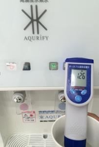 アクリファイ溶存水素濃度