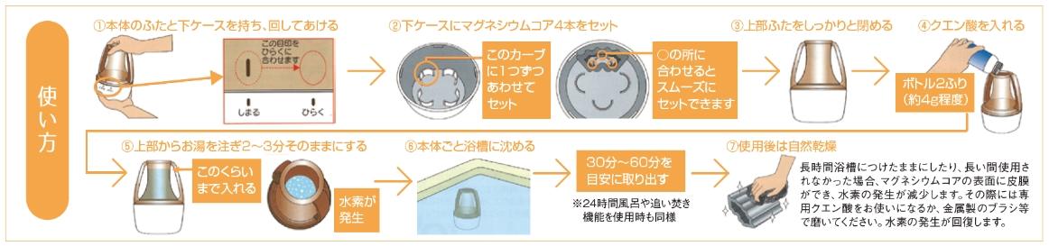水素水風呂SPAHpot