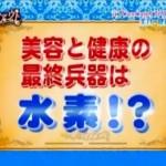 即決!美テイクアウト-TBS(水素についての報道)